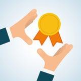 Flat illustration about achievement design Royalty Free Stock Photo