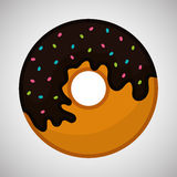 Flat illustration about donut design Royalty Free Stock Photo
