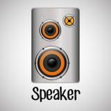 Flat illustration about speaker design Stock Photo