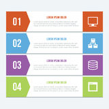 Flat Infographics Elements 03 Royalty Free Stock Image