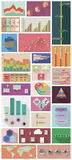 Flat Infographics Stock Images