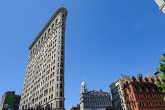 Flat Iron Building Royalty Free Stock Photography