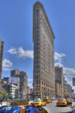 Flat Iron Building (HDR) Royalty Free Stock Image