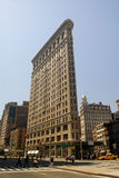 Flat Iron Building in New York Royalty Free Stock Photo