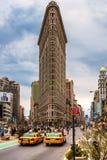 Flat Iron building, New York City. royalty free stock photography