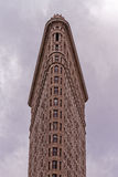 The Flat Iron Building in New York city. The typical shape of the Flat Iron Building in Manhattan, New York City Royalty Free Stock Photography