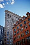 Flat iron building in new york city, usa Royalty Free Stock Photography