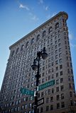 Flat iron building in new york city, usa Royalty Free Stock Photos