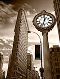Flat Iron building. NYC. Stock Images