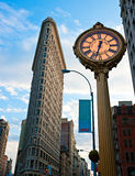 Flat Iron building, NYC. stock photography