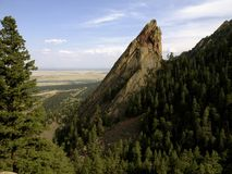 Flat iron mountain Stock Image