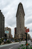 Flat Iron in New York United States of America. In autumn 2015 Royalty Free Stock Photos