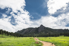 The Flat Irons Royalty Free Stock Photography