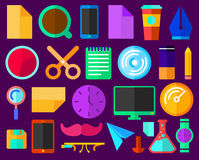 Flat Items Stock Images