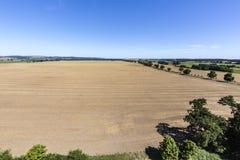 Flat landscape in Mecklenburg Royalty Free Stock Image