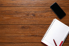 Flat lay, Close up Clean Open Notebook, Stock Images