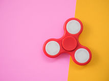 Flat Lay Hand Spinner royalty free stock photography