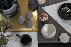 Flat-lay Homeware Stock Images