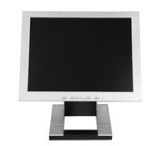 Flat LCD Monitor Royalty Free Stock Photography