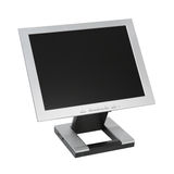 Flat LCD Monitor Royalty Free Stock Photos