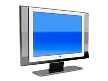 Flat LCD tv royalty free illustration