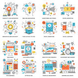 Flat Line Concepts Stock Images