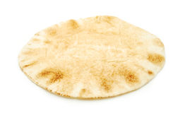 Flat loaf of bread Royalty Free Stock Image