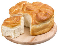 Flat loaf Stock Photo