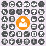 Flat Medical Icons set.vector/eps10. Stock Photography