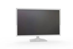 Flat monitor Royalty Free Stock Photo
