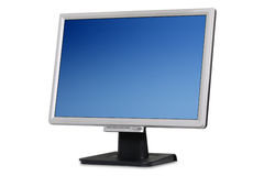Flat monitor Stock Photography