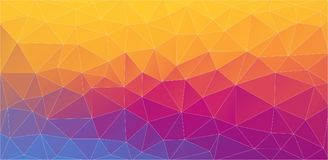 Flat multicolor 2D triangle background. Flat multicolor 2D Abstract geometric background for your design vector illustration