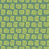 Flat napkin Stock Image