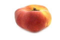 Flat nectarine Royalty Free Stock Image