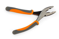 Flat-nose pliers with a fix Stock Photo