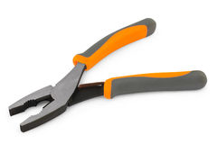 Flat-nose pliers with a fix Royalty Free Stock Photo