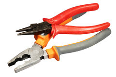 Flat-nose pliers Royalty Free Stock Photography