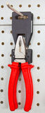 Flat-nosed pliers. Tool, equipment Stock Photography