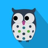 Flat Owl Stock Image
