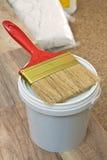 Flat paint brush Royalty Free Stock Image
