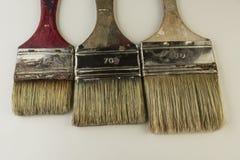 Flat paintbrushes Royalty Free Stock Photo