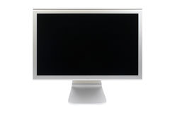 Flat panel lcd computer monitor Royalty Free Stock Images