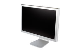 Flat panel lcd computer monitor Royalty Free Stock Photography