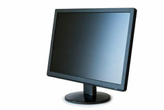 Flat Panel Monitor Stock Photo
