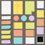 Flat Paper royalty free illustration