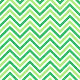 Flat pattern. Simple colorful green seamless zig zag pattern Royalty Free Stock Images