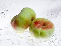 Flat peach Royalty Free Stock Photos
