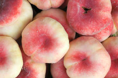 Flat peach Royalty Free Stock Photography
