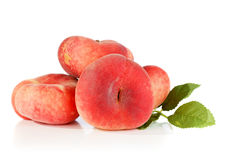Flat peach Stock Images