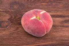 Flat peach Royalty Free Stock Image